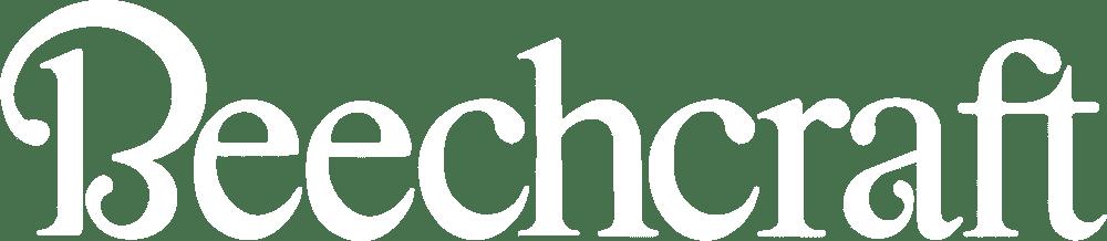 Beechcraft Logo in White