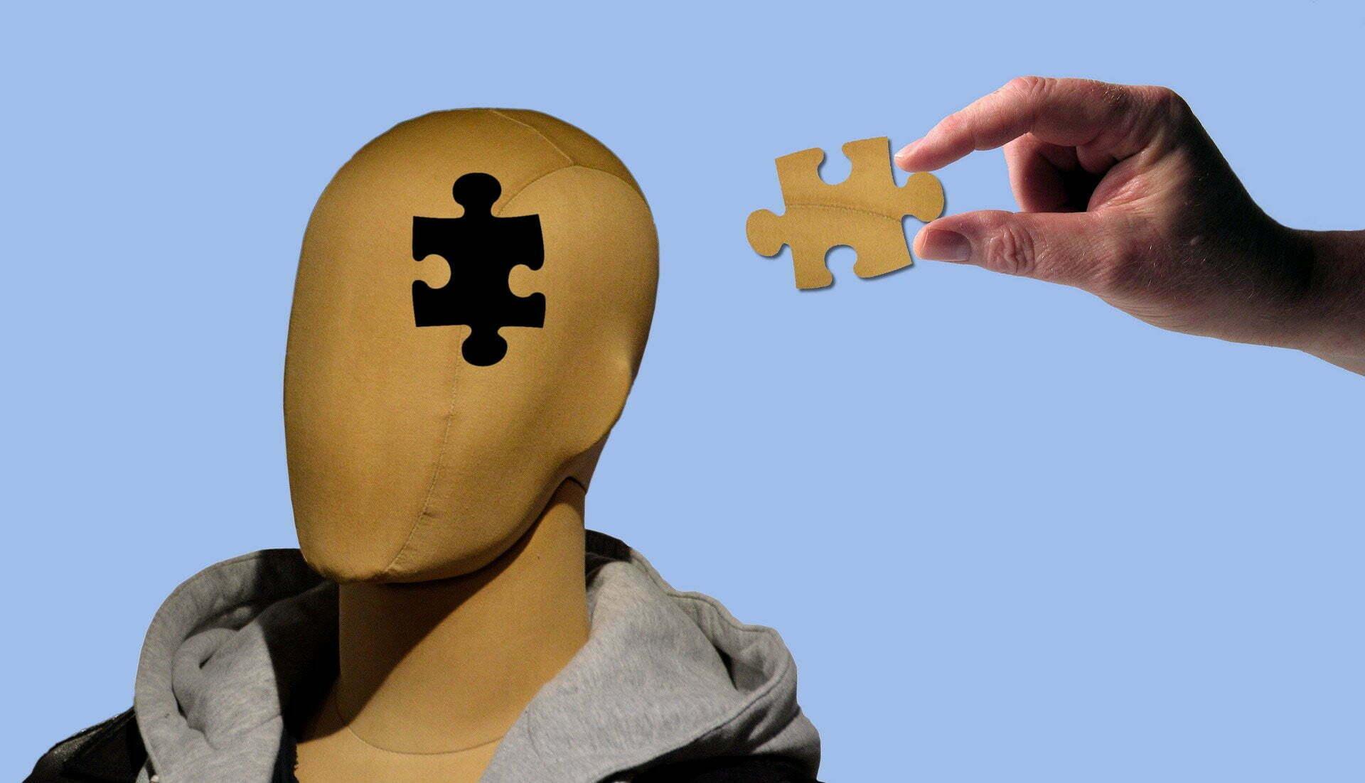 psychology, mental puzzle piece