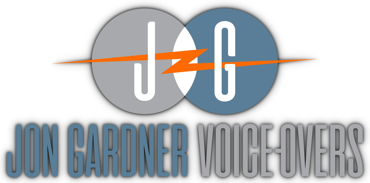 Jon Gardner Voice-Overs Logo. A voice actor who listens and makes your job easier. I hear you. Authentic, personal, intelligent, professional.