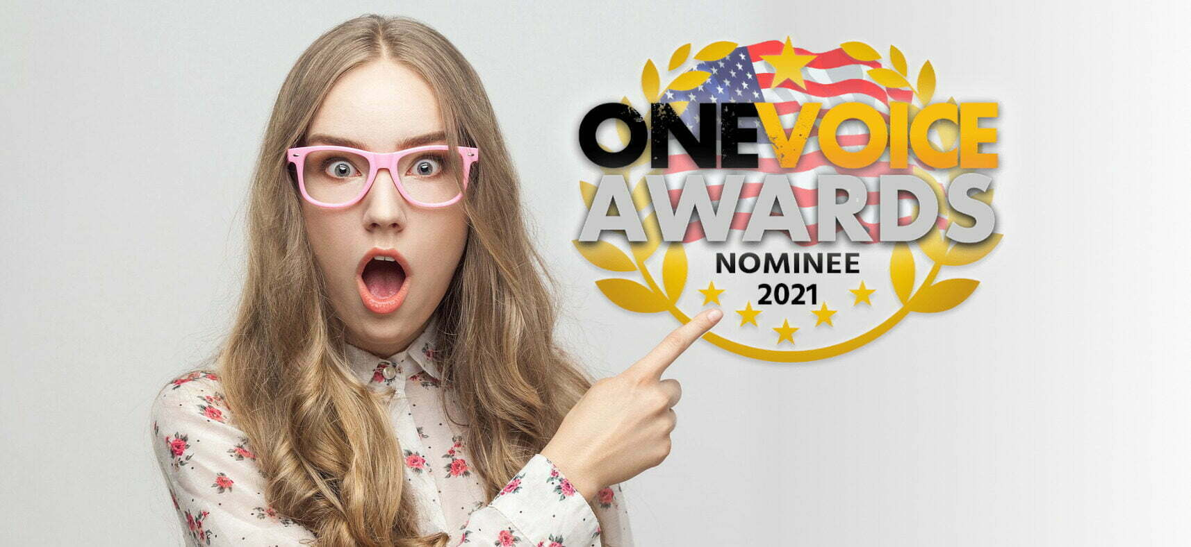 Surprised by OneVoice Award Nomination