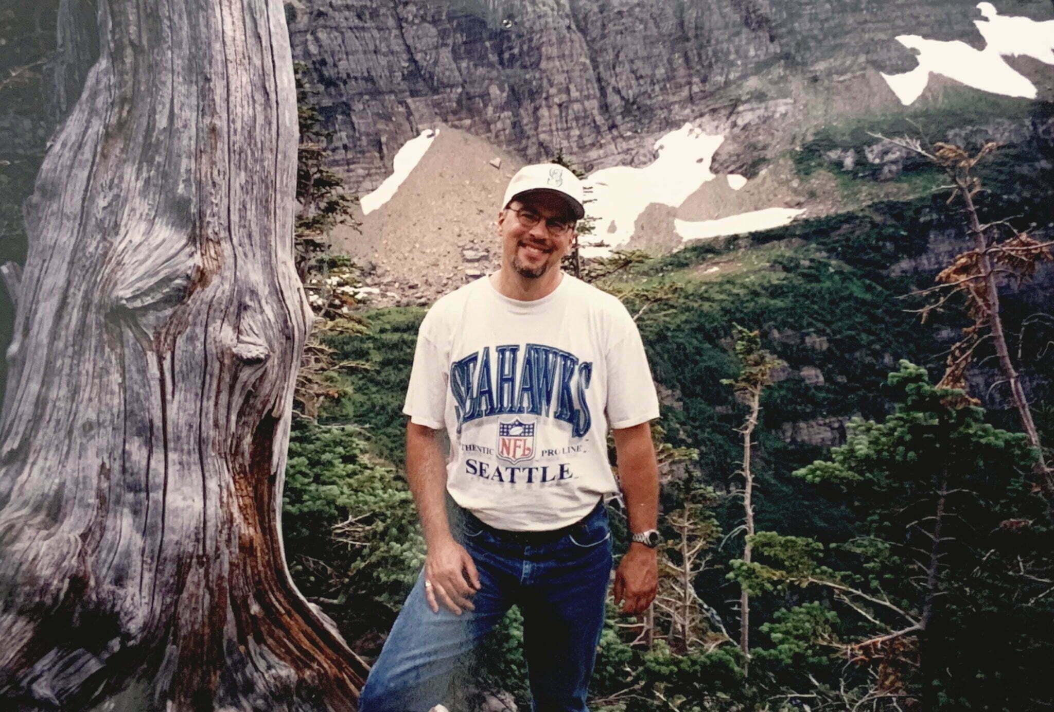 Jon gardner at Glacier National Park