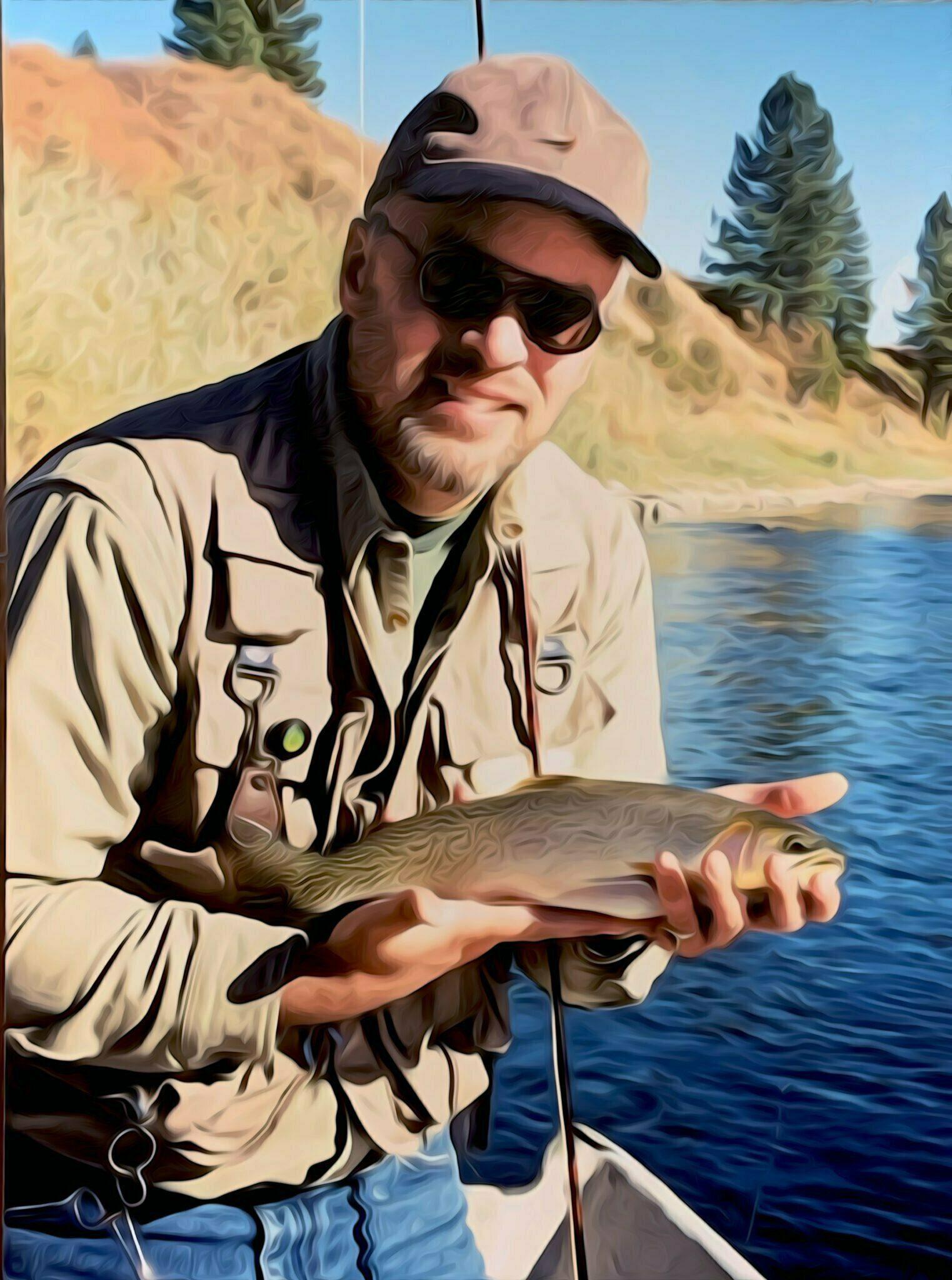 Jon Gardner, Trout Fishing