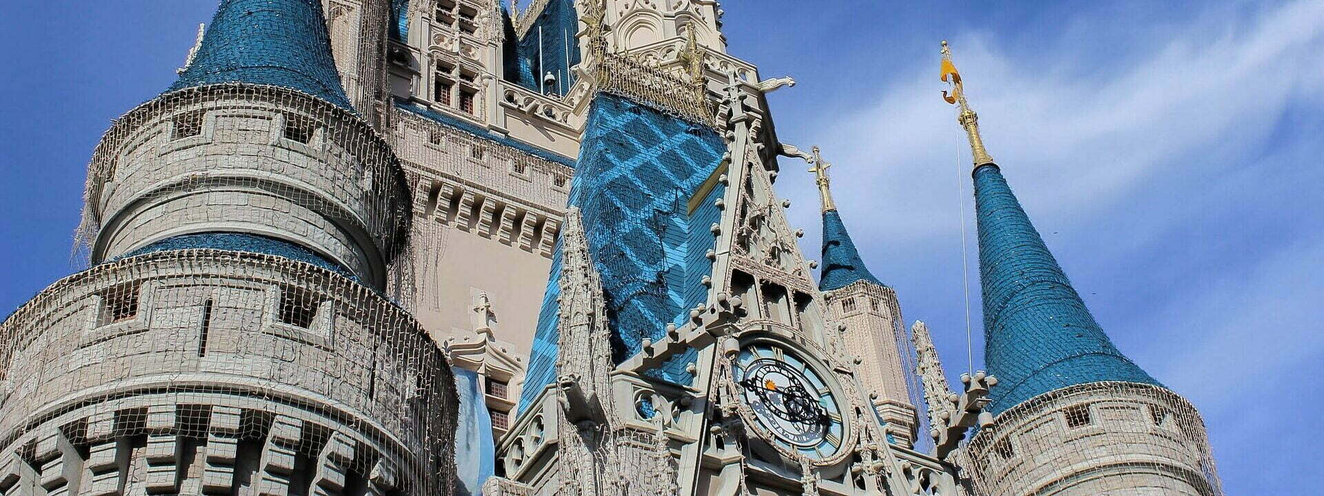 cinderella castle - voiceover lessons from disney
